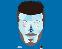 Kitman series#4 football soccer player illustrations