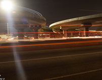 Light Streaks - Mallam Interchange, Accra