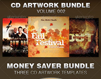 CD Cover Artwork Bundle-Vol 002