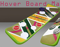 Back to the Future Hoverboard rebuild and revamp
