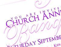 5th Anniversary Banquet Invitation