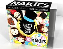 Makies Core Branding & Packaging