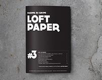 Loft Paper #3