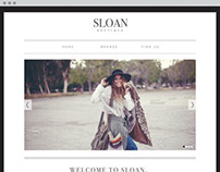 Sloan PDX Web Redesign