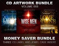 CD Cover Artwork Bundle-Vol 003