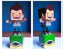 Paper toy - Gigio