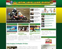 Website KONI Jawa Timur