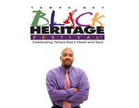 2012 Tampa Bay Black Heritage Festival Collateral