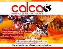 Afiche Promocional - Calcas Costa Rica