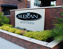 Alexan Midtown Apartments Environmental Design