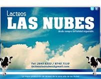 Publicidad Lácteos Las Nubes