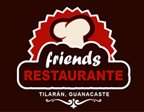 Logotipo para Restaurante Friends