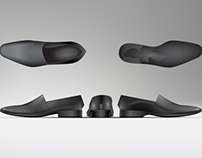 Illustrator and 3D CAD - Men's Shoes