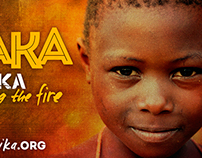 Yaaka Afrika 4x10 Promotional Banner