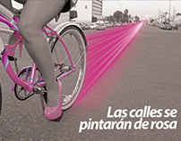 Ladies Ride/ Campaña publicitaria