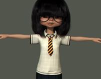 Eik_Character Look Development