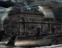 National Theatre Prague post apocalyptic