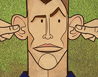 Gareth Bale Cartoon