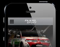 New Pajero Sport Mobile App