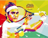 Roger Federer in WPAP