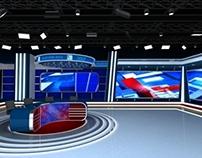Election 2013 Virtual Set