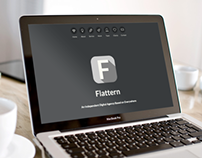 Flattern All in One Landing Page