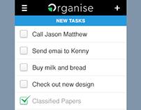 Organise mobile