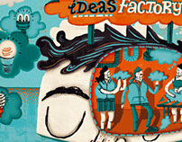 Ideas Factory: Editorial Illustration