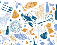 Bluewater Dining Illustration