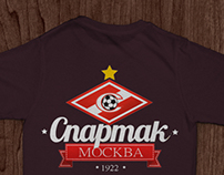 T-Shirt FC Spartak Moscow