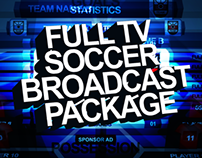 Full Soccer TV Broadcast Package