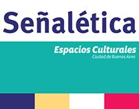 Señalética Espacios Culturales de la Ciudad de B.A.