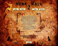 Wear 2 Walk ~ Grunge Web Design