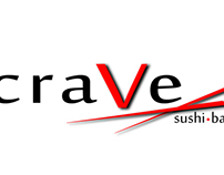 Crave Sushi Bar logo