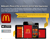 McDonald's Turkey iPhone & iPad - Android App
