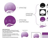 Identity Design: massage Therapy, Spa place, Jedda.