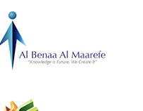 Identity Design: Albenaa Almaarefe, Jedda.