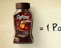 Advertising campaign: Cofique, coffee product