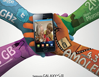 Product Advertising campaign: Samsung new phone