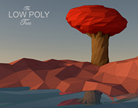 Low Poly Tree #2 - Abstract Arts