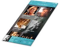Music App - iOS UI Retina