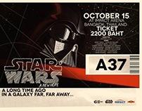 Starwars Ticket