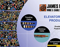 James Monroe Wire & Cable Corp, Tradeshow Banner