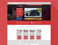 Automotive Auction Website Design