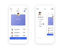 PayMoney app | Profile & Settings