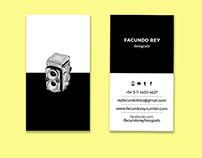 Facundo Rey • business cards