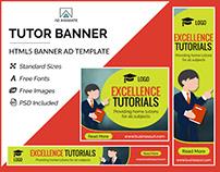 Tutor Banner - HTML5 Ad Template