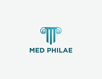 MED Philae | Logo Design