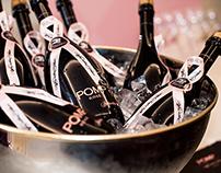 POMP Champagne Branding