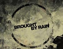 Brought by rain - Logo design